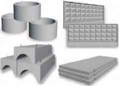 Железобетонные изделия по спецификации заказчика