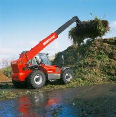 Car MANITOU for cleaning of environmen