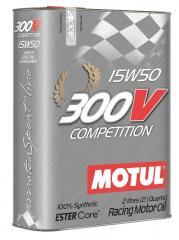 Моторное масло MOTUL 300V COMPETITION 15W-50