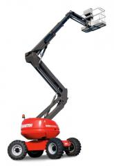 MANITOU Loaders with the telescopic load-lifting