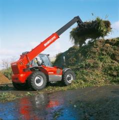 MLT 845-120 H the Loader with the telescopic not