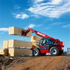 MT 1030 ST the Loader with the telescopic not