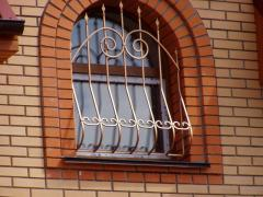 Asforje Metal window lattices