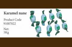 Конфеты карамель с мятой 91007022