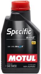 Моторное масло MOTUL SPECIFIC DEXOS2 5W-30