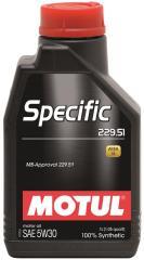 Моторное масло  MOTUL SPECIFIC 229.51 5W-30