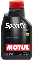 Моторное масло MOTUL SPECIFIC 913C 5W-30