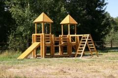 Детские площадки, беседки, мансарды.