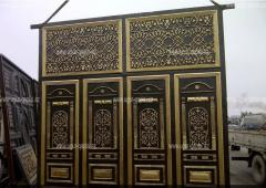 Ugur Qapisi  Ворота кованые