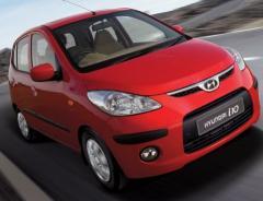 Автомобиль марки Hyundai I10