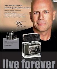 Spirit of immortality from Bruce Willis