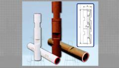 Locks for prospecting boring pipes