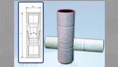 Locks for light-alloy boring pipes