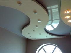 Натяжные потолки для комнаты