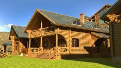 Дачные дома из оцилиндрованного бревно от 500 AZN