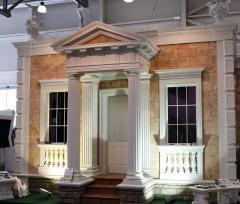 Columns from polyfoam