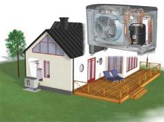 Тепловые насосы Воздух - Вода