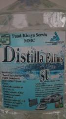 Water the distilled Fuad kimya servis