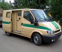 Автомобиль специальный бронированный Форд Транзит