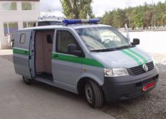Автомобиль специальный бронированный Volkswagen