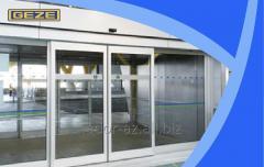 Линейная раздвижная дверь ECdrive / ECdrive-FR