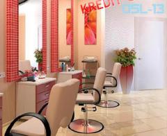 Güzellik salonları için mobilya
