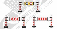 Складной предупреждающий знак барьер 12407 DB R