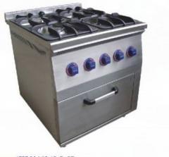 Печь газовая шести конфорочная