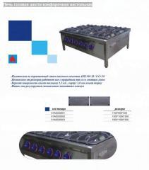 Печь газовая шести конфорочная настольная 01А0035003