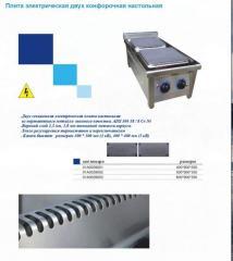 Плита электрическая двух конфорочная настольная 01А0039001