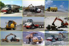 Sharnirno-sochlenennye AstraADT dump trucks