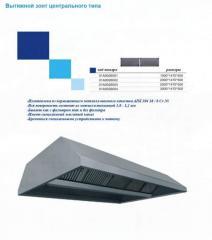 Вытяжной зонт центрального типа 01А0026001