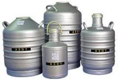 Азот газообразный технический 1 сорт