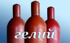 Гелий газообразный (сжатый), марка А