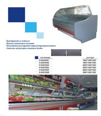 Холодильная витрина 1500*1000*1350