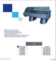 Холодильная витрина 01А0070001, размер 1500*1000*1350