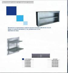 Настенный шкаф со средней полкой 01А0023003