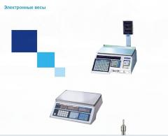 Electronic scales 1