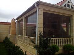 Cam balkon 90 AZN 1 m2