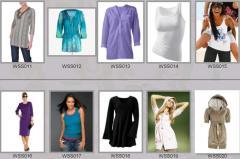 Одежда женская весенне-летняя WSS011-WSS020