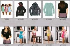 Одежда женская весенне-летняя WSS031-WSS040