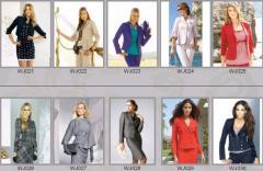Пиджаки женские WJ021-WJ030