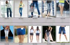 Jeans for women of WJ011-WJ020