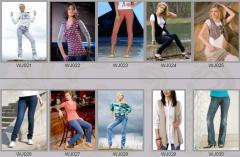 Jeans for women of WJ021-WJ030