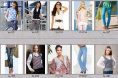 Jeans for women of WJ031-WJ040