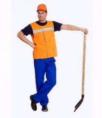 Universal working clothes of UWF0106, UWF0107,