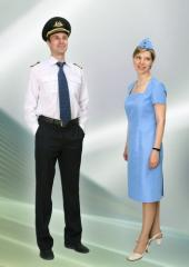 Clothes for workers of aircraft of ARSF0001,