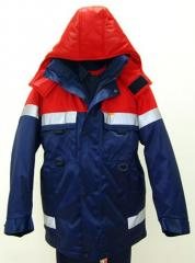 Clothes for railway workers of ARSF0031, ARSF0032,