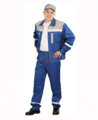 Overalls for electricians of UWF0076