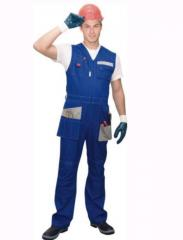 Overalls of a special purpose UWF0003